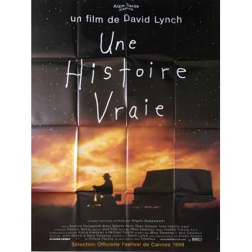 THE SRAIGHT STORY Original Movie Poster - 47x63 in. - 1999 - David Lynch, Richard Farnsworth