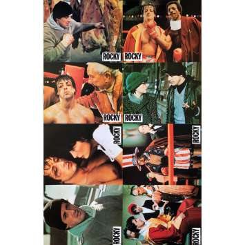 ROCKY Original Lobby Card set - 9x12 in. - 1976 - Sylvester Stallone