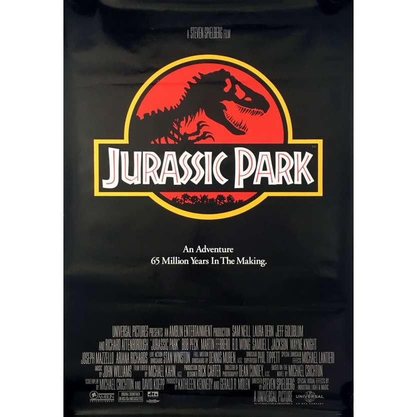 JURASSIC PARK Affiche de film - 69x102 cm. - 1993 - Sam Neil, Steven Spielberg
