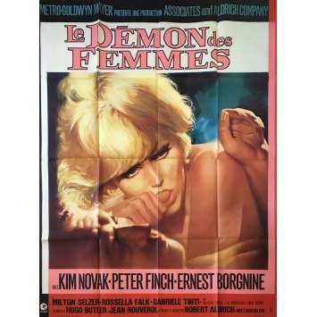 LE DEMON DES FEMMES Affiche de film - 120x160 cm. - 1968 - Kim Novak, Robert Aldrich