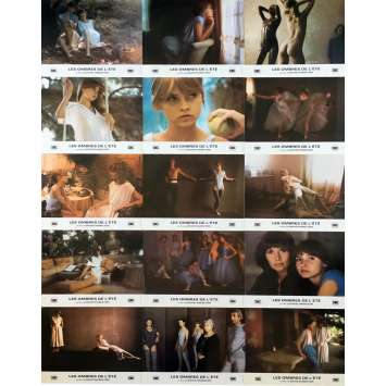 LAURA Original Lobby Cards - 9x12 in. - 1979 - David Hamilton, Maud Adams