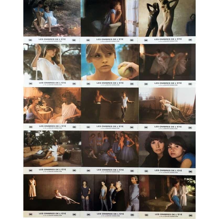 LAURA LES OMBRES DE L'ETE Photos de film x15 - 21x30 cm. - 1979 - Maud Adams, David Hamilton