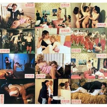 DORTOIR DES GRANDES Photos de film x12 - 21x30 cm. - 1984 - Isabelle Legrand, Pierre Unia
