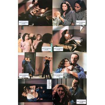 REVOLTE AU PENITENCIER DE FILLES Photos de film x8 - 21x30 cm. - 1983 - Laura Gemser, Bruno Mattei