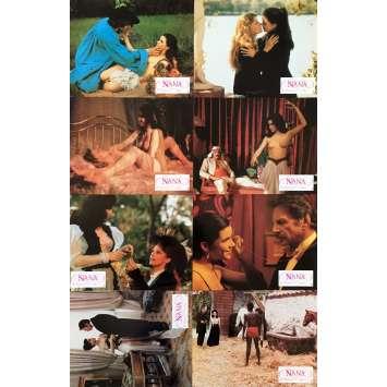 NANA Photos de film x8 - 21x30 cm. - 1983 - Anna Gaël, Dan Wolman