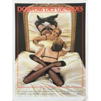 DORTOIR DES GRANDES Synopsis - 21x30 cm. - 1984 - Isabelle Legrand, Pierre Unia