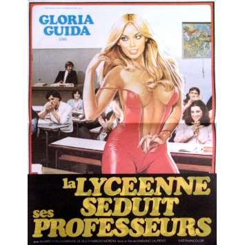 LA LYCEENNE SEDUIT LES PROFESSEURS Affiche 40x60 '83 Movie Poster