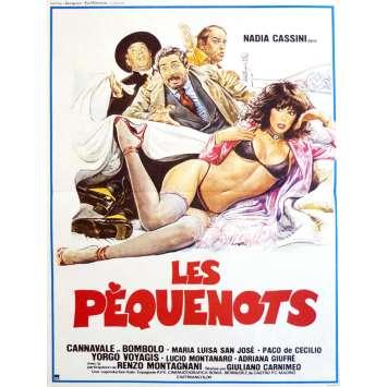 LES PEQUENOTS Affiche de film 40x60 - 1981 - Nadia Cassini, Cannavale, Giuliano Carnimeo