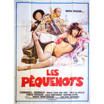 LES PEQUENOTS French Movie Poster 47x63 - 1981 - Giuliano Carnimeo, Nadia Cassini, Cannavale