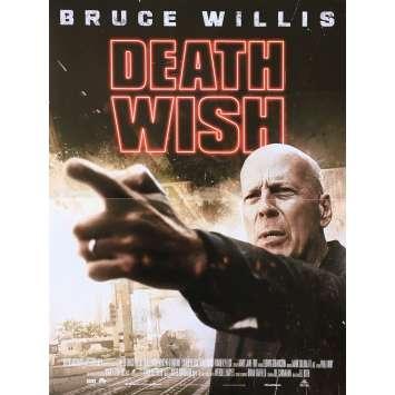 DEATH WISH Original Movie Poster - 15x21 in. - 2018 - Eli Roth, Charles Bronson