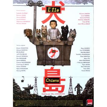 ISLE OF DOGS Original Movie Poster - 15x21 in. - 2018 - Wes Anderson, Scarlett Johansson