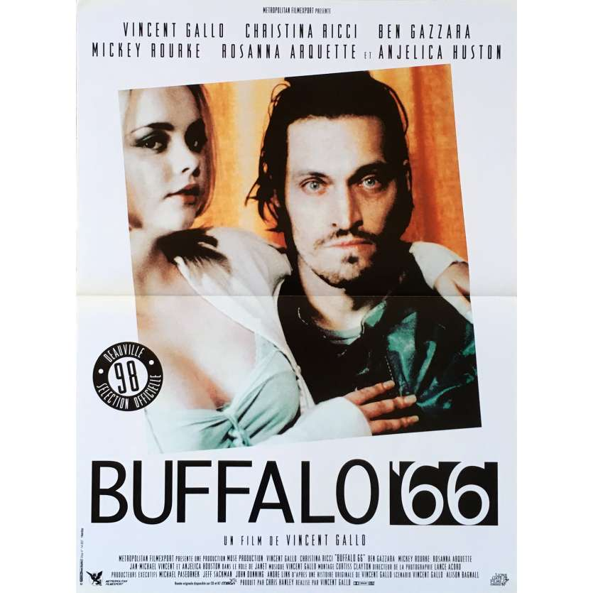 BUFFALO 66 French Movie Poster 15x21 '98 Vincent Gallo