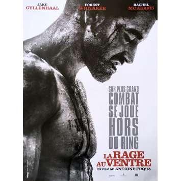 LA RAGE AU VENTRE Affiche de film 40x60 - 2015 - Jake Gyllenhaal, Antoine Fuqua