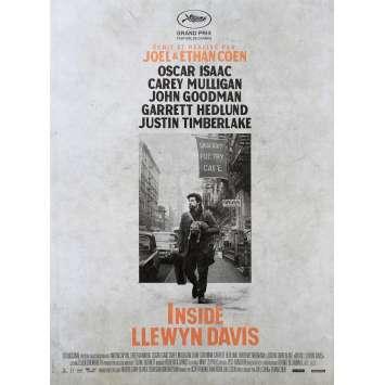 INSIDE LLEWYN DAVIS Affiche de film 40x60 - 2013 - Oscar Isaac, Joel Coen