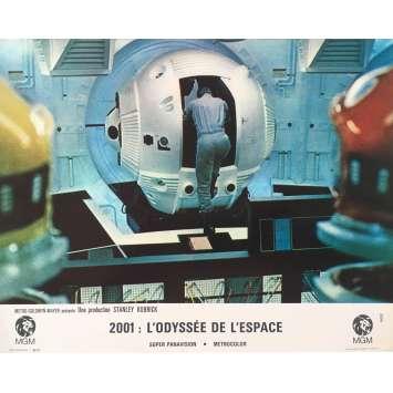 2001 L'ODYSSEE DE L'ESPACE Photo de film N05, Set B - 21x30 cm. - 1968 - Keir Dullea, Stanley Kubrick