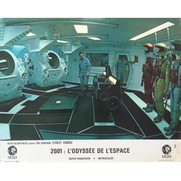 2001 L'ODYSSEE DE L'ESPACE Photo de film N04, Set B - 21x30 cm. - 1968 - Keir Dullea, Stanley Kubrick
