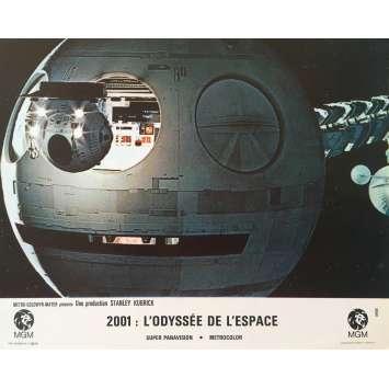 2001 A SPACE ODYSSEY Original Lobby Card N01, Set B - 9x12 in. - 1968 - Stanley Kubrick, Keir Dullea