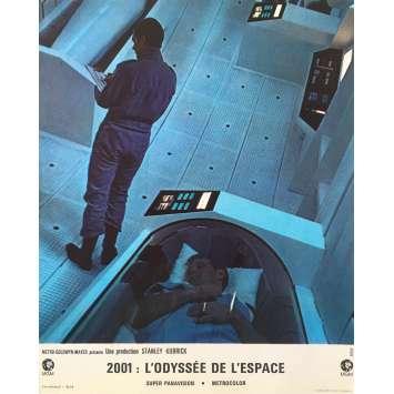 2001 L'ODYSSEE DE L'ESPACE Photo de film N02, Set B - 21x30 cm. - 1968 - Keir Dullea, Stanley Kubrick