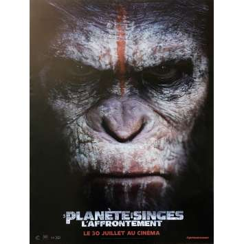 DAWN OF THE PLANET OF THE APES Original Movie Poster Style B - 15x21 in. - 2014 - Matt Reeves, Gary Oldman
