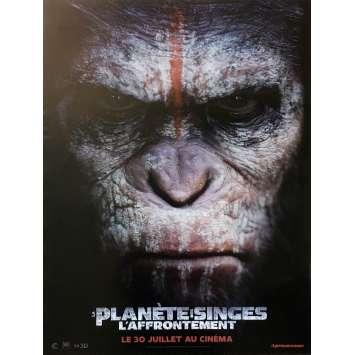 LA PLANETE DES SINGES : L'AFFRONTEMENT Affiche de film Style B - 40x60 cm. - 2014 - Gary Oldman, Matt Reeves