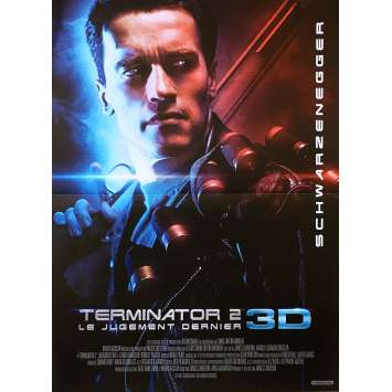 TERMINATOR 2 Affiche de film 3D - 40x60 cm. - 2017 - Arnold Schwarzenegger, James Cameron