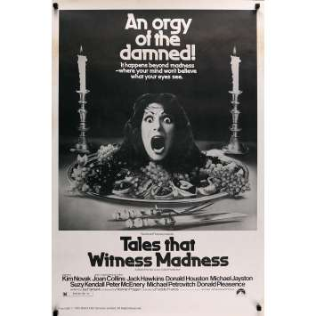 TALES THAT WITNESS MADNESS Original Movie Poster - 27x40 in. - 1973 - Freddie Francis, Donald Pleasance