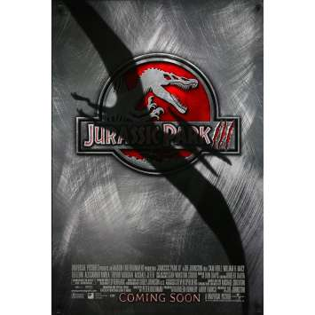 JURASSIC PARK III Original Movie Poster - 27x40 in. - 2001 - Steven Spielberg, Sam Neil