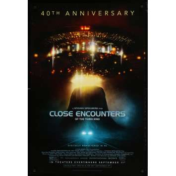 CLOSE ENCOUNTERS OF THE THIRD KIND Original Movie Poster - 27x40 in. - 2017 - Steven Spielberg, Richard Dreyfuss
