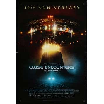 RENCONTRES DU 3E TYPE Affiche de film - 69x102 cm. - 2017 - Richard Dreyfuss, Steven Spielberg