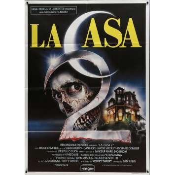 EVIL DEAD 2 Original Movie Poster - 39x55 in. - 1987 - Sam Raimi, Bruce Campbell
