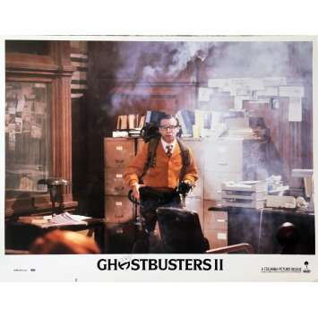 GHOSTBUSTERS 2 Original Lobby Card N08 - 11x14 in. - 1989 - Ivan Reitman, Bill Murray