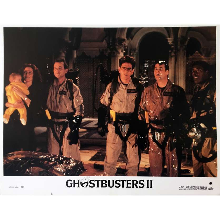 GHOSTBUSTERS 2 Original Lobby Card N07 - 11x14 in. - 1989 - Ivan Reitman, Bill Murray
