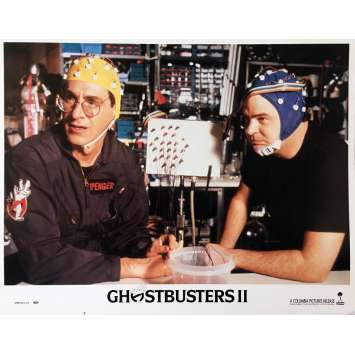 GHOSTBUSTERS 2 Original Lobby Card N05 - 11x14 in. - 1989 - Ivan Reitman, Bill Murray