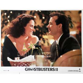 GHOSTBUSTERS 2 Original Lobby Card N04 - 11x14 in. - 1989 - Ivan Reitman, Bill Murray