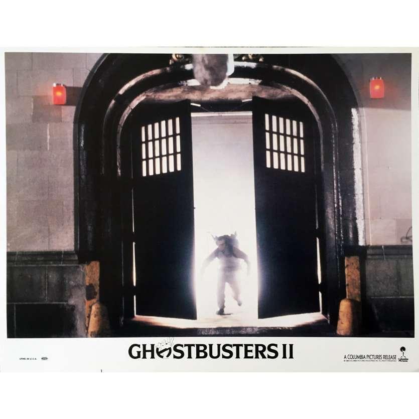 GHOSTBUSTERS 2 Original Lobby Card N03 - 11x14 in. - 1989 - Ivan Reitman, Bill Murray