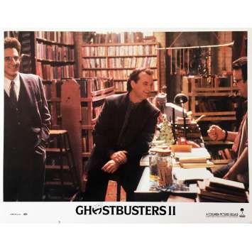 GHOSTBUSTERS 2 Original Lobby Card N02 - 11x14 in. - 1989 - Ivan Reitman, Bill Murray