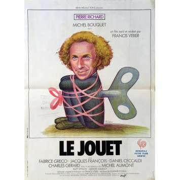 LE JOUET Affiche de film - 40x60 cm. - 1976 - Pierre Richard, Francis Veber