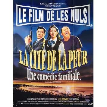LA CITE DE LA PEUR Affiche de film - 120x160 cm. - 1994 - Alain Chabat, Alain Berbérian