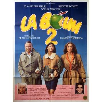LA BOUM 2 Affiche de film - 120x160 cm. - 1982 - Sophie Marceau, Claude Pinoteau