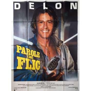 COP'S HONOR Original Movie Poster - 47x63 in. - 1985 - José Pinheiro, Alain Delon