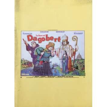 LE BON ROI DAGOBERT Dossier de presse - 21x30 cm. - 1984 - Coluche, Dino Risi