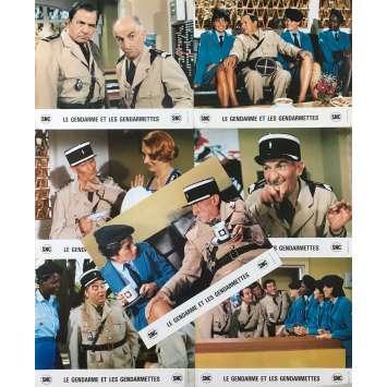 LE GENDARME ET LES GENDARMETTES Photos de film x7 - 25x30 cm. - 1982 - Louis de Funès, Jean Girault