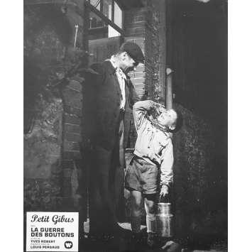 WAR OF THE BUTTONS Original Lobby Card N04 - 10x12 in. - 1962 - Yves Robert, Jacques Dufilho