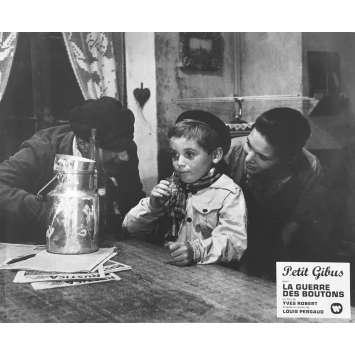 LA GUERRE DES BOUTONS Photo de film N01 - 25x30 cm. - 1962 - Jacques Dufilho, Yves Robert