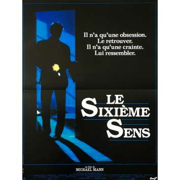 LE SIXIEME SENS Affiche de film - 40x60 cm. - 1986 - William Petersen, Michael Mann
