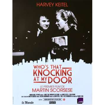 WHO'S THAT KNOCKING AT MY DOOR Affiche de film - 40x60 cm. - R1990 - Harvey Keitel, Martin Scorses