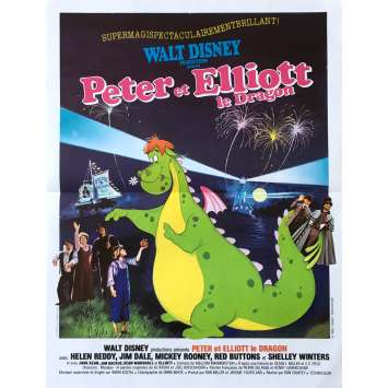 PETE'S DRAGON Original Movie Poster - 15x21 in. - 1977 - Walt Disney, Sean Marshall