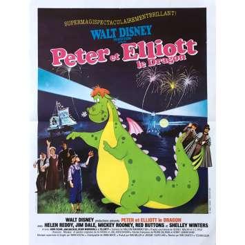PETER ET ELLIOTT LE DRAGON Affiche de film - 40x60 cm. - 1977 - Sean Marshall, Walt Disney