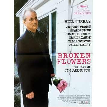 BROKEN FLOWERS Affiche de film - 40x60 cm. - 2005 - Bill Murray, Jim Jarmusch