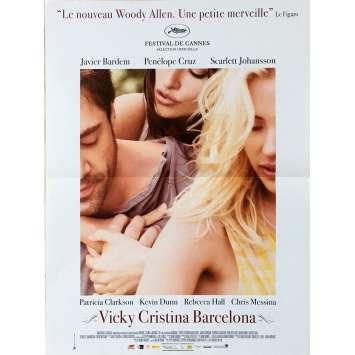 VICKY CRISTINA BARCELONA Affiche de film - 40x60 cm. - 2008 - Rebecca Hall, Woody Allen